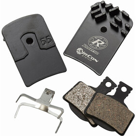 Reverse AirCon Brake Pad System for Magura MT2/MT4 4 Pieces, black